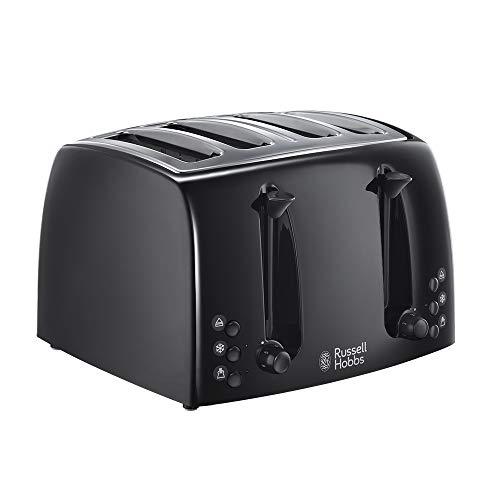 Russell Hobbs Textures 4-Slice Toaster 21651 - Black