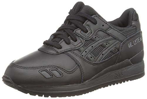Asics Gel-Lyte Iii, Zapatillas de Running Unisex Adulto Negro (Black)