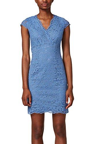 ESPRIT Collection Vestido de Fiesta para Mujer Azul (Blue 430)