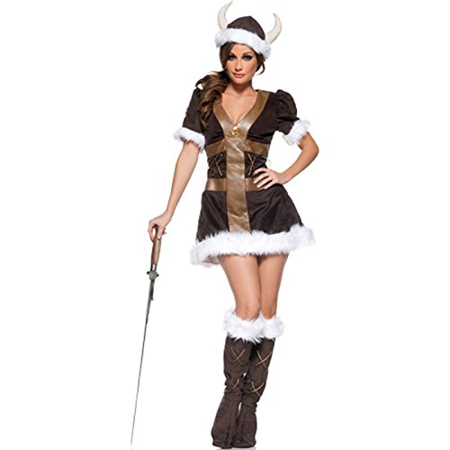 Women's Viking Princess Costume (Halloween Costume Winners)