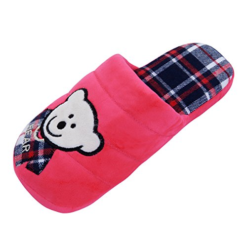TrendsBlue House Hot Cozy Different Slippers Pink Fleece Colors Fabric Bear Baby amp; vw7vqYrx