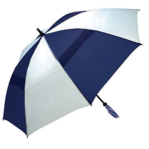 ite WINDPRO Vented Auto Open Golf Umbrella, 68-Inch Arc (68 Inch Fiberglass Shaft Umbrella)