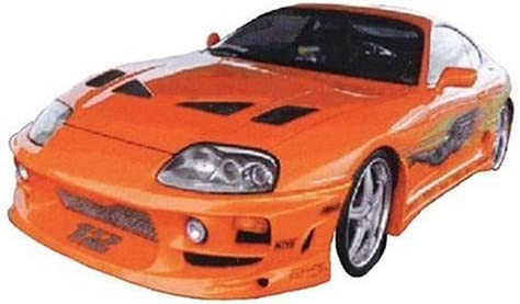 1/25 The Fast & The Furious '95 Toyta Supra Turbo Plastic Model Kit 41720HCAFVL