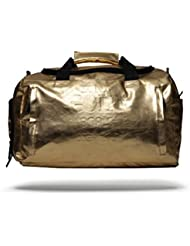 Sprayground Gold Brick Weekender Duffel Bag