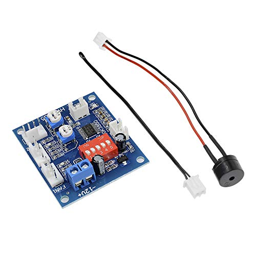 Diymore DC12V 5A PWM 4 Wires PC Fan Temperature Manumotive