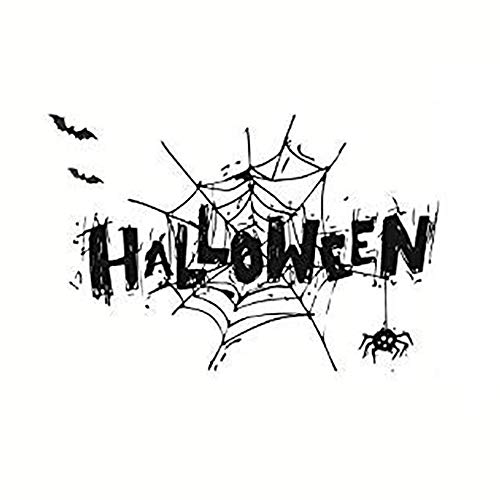 Yoveme Wall Stickers Halloween Window Decals Spider Christmas Theme Window Clings 3D 16.5