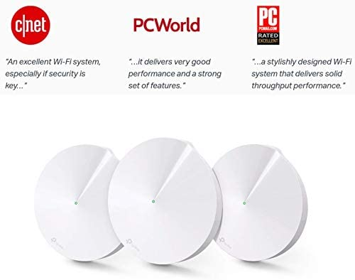 AC1300 Whole-Home Wi-Fi System 2-Pack TP-Link Deco M5 Official Recertified