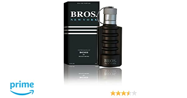 New York Eau De Toilette Spray for Men, 3.1 Ounces 95 Ml - Impression of Boss : Beauty