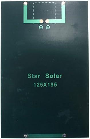9V 3W Solar Board Wasserdicht 93/% Lichtdurchl/ässigkeit Poly-Silizium-Solarzelle Poly-Silizium-Solarzelle Solarpanel-Modul Solar Board