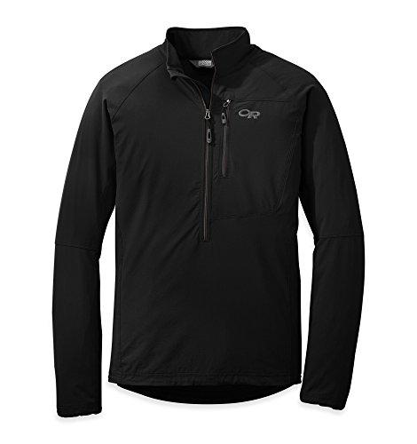 Outdoor Research Men's Ferrosi Windshirt Black S & Hat Bu...
