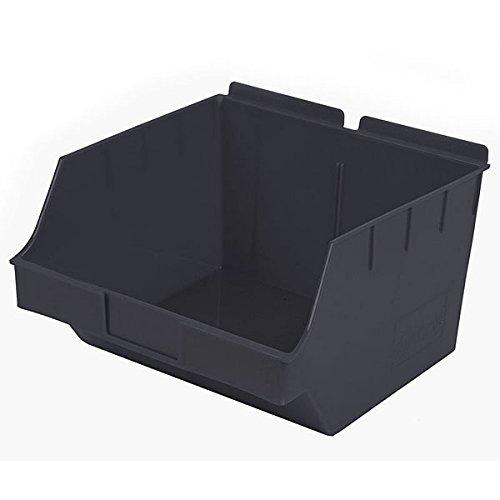 New Retail Black Storbox Big for Slatwall 10.83''d x 11.0''w x 6.7''h by Storbox
