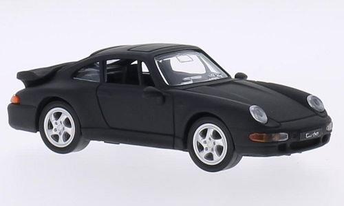 Porsche 911 (993) Turbo, negro mate, 1996, Modelo de Auto, modello completo, Lucky El Cast 1:43: Lucky Die Cast: Amazon.es: Juguetes y juegos
