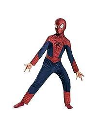 Disguise Marvel The Amazing Spider-Man 2 Movie Classic Boys Costume, Medium/7-8