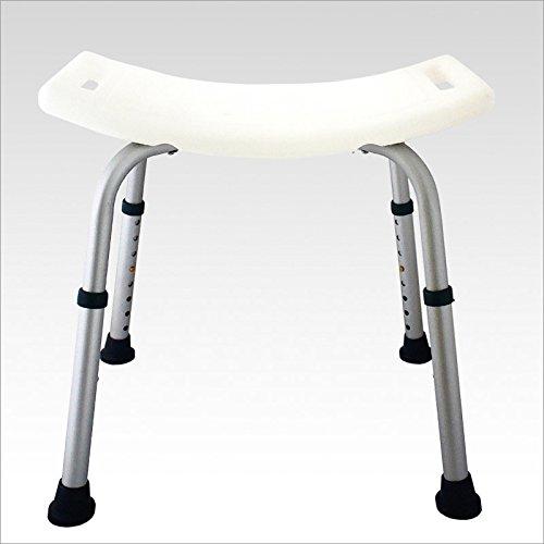 42 opinioni per Sgabello sedile per doccia bagno colore: bianco- silver 50 x 30 cm per più