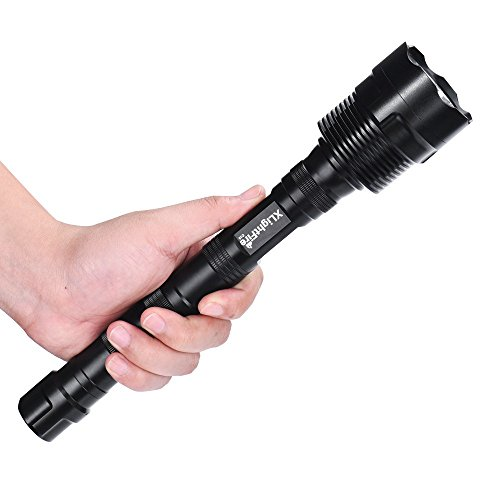 8 X Flashlight (Flashlight, Dacawin 20000 Lumens 8 x XML 5 Mode 18650 Super Bright LED Flashlight (Black))