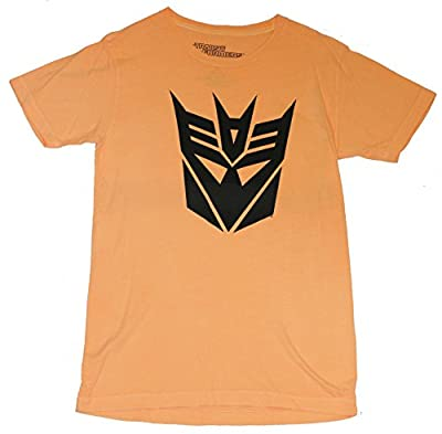 Transformers Mens T-Shirt - Classic All Black Decepticon Logo Image