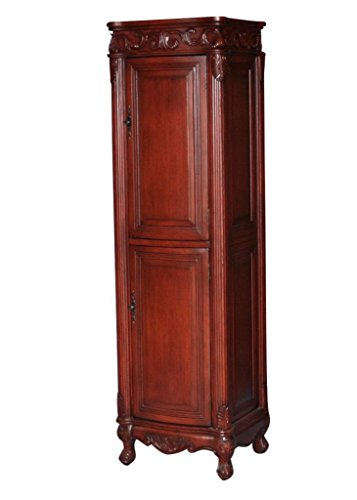 (Antique Style Bathroom Linen Cabinet Model 2917-505)