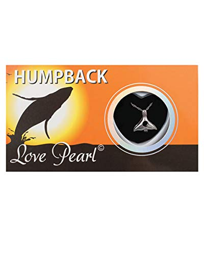 Humpback Whale Necklace Wish Pearl Gifts Love Pearl Necklace with Genuine Pearl Pack of One