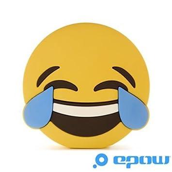 EPOW® Batería Externa Emoji Smiley LOL 2600 mAh, Batería portátil emoticone Fun Idéale Pokemon Go, Cargador Externo Power Bank para iPhone, Samsung, ...
