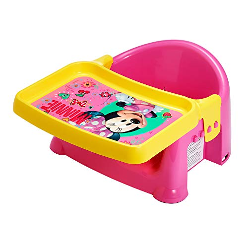 The First Years 3-in-1 Booster Seat, Disney Minnie Mouse, Pink