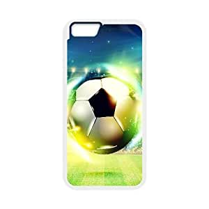 iphone6 plus 5.5 inch phone cases White Football fashion cell phone cases JYTR4113609
