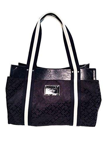 Tommy Hilfiger Medium Iconic Handbag Tote Black