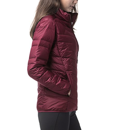 LAPASA Women's Water-Repellant Down Jacket (550 Feathers), Zipper + Interior Pockets, Lighteweight, Packable, Slim-Fit L18 by LAPASA (Image #1)