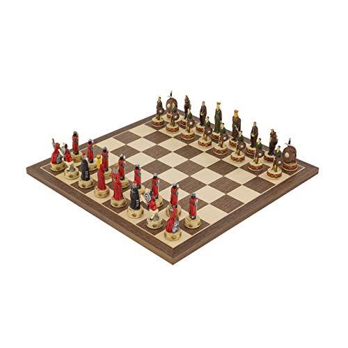 (Regencychess The England Vs Scotland Hand Painted Themed Chess Set by Italfama)