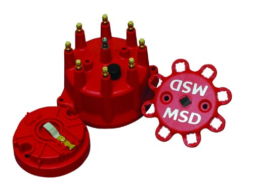 Distributor Cap Rotor Set - MSD 84315 Distributor Cap and Rotor Kit