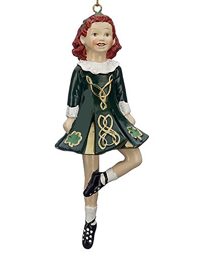 Ireland IRISH DANCER RED DRESS ORNAMENT