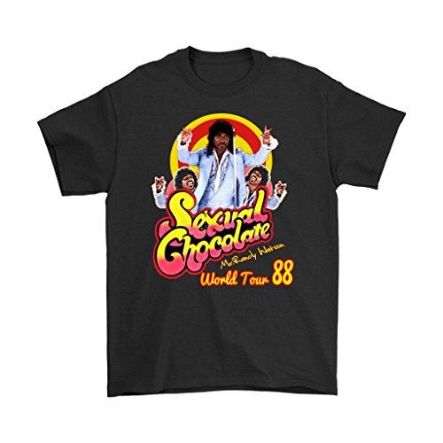 Dealcry Sexual Chocolate Randy Watson Eddy Murphy's 1988 World Tour Funny t Shirt
