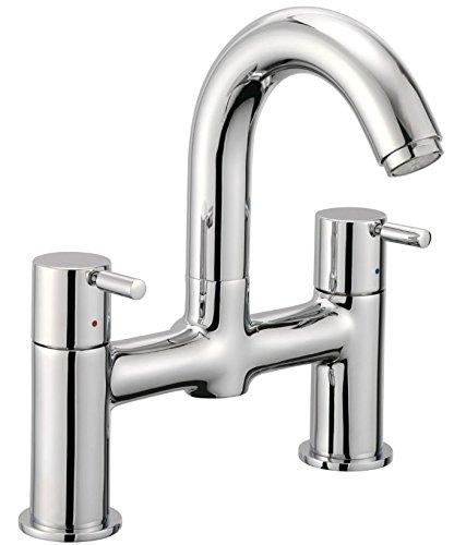 Low Pressure Bath Filler (Francis Pegler 4K4018 Pillar Pattern Bath Filler Taps)
