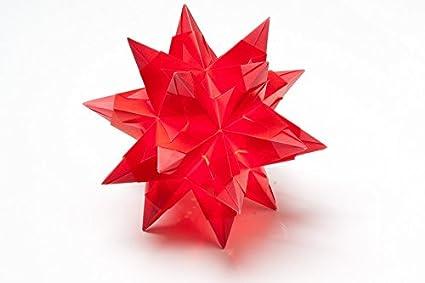 Amazon Laminated Poster Poinsettia Origami Fold Art Of Paper