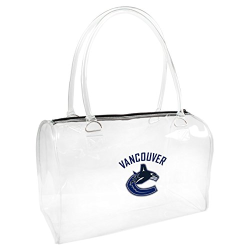 Small Bowler Handbag (NHL Vancouver Canucks   Clear Bowler Handbag)
