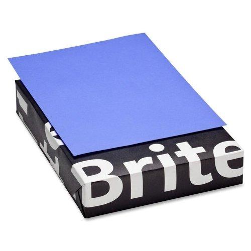 Wholesale CASE of 15 - Mohawk Brite Hue Color Paper-Laser/Copy Paper, 20 lb, 8-1/2''x11'', 500/RM, Ultra Purple by MOW