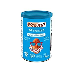Bebida de Almendra (con Calcio) 400 gr de Ecomil: Amazon.es ...