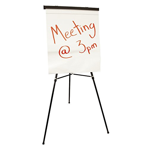 US Art Supply''Boardroom XL'' Extra Large 70'' Tall Holding 45-lb's Black Aluminum Flipchart Display Easel by US Art Supply (Image #2)