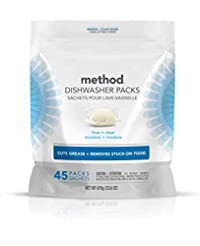 Method Power Dish Dishwasher Soap Packs,...
