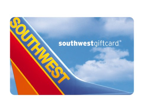 - Southwest Airlines Gift Card $200