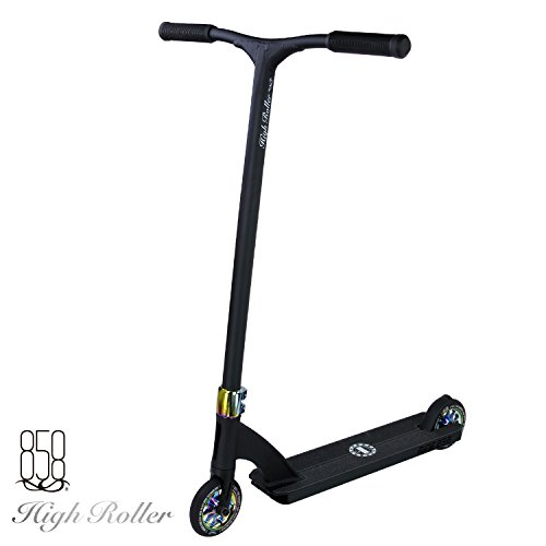 Ride 858 High Roller Complete Scooter ( OIL SLICK/MATTE BLACK)