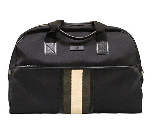 Gucci Men's Black Fabric Duffle Travel Bag 282511 1081