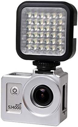 Wifi /& SJ6000 /& SJ7000 Sport Action Camera Camera accessories SG169 Universal Aluminum Alloy Protective Case with 40.5mm UV Filter /& Lens Protective Cap for SJCAM SJ4000 /& SJ4000 Wifi /& SJ4000 Black