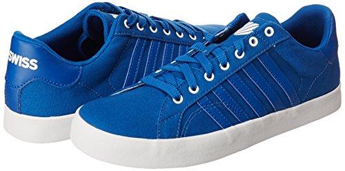 LP Swiss para Tenis Blanco K Choclo Mujer Belmont Clásico Urbana Azul Azul Clásico R6Hd1