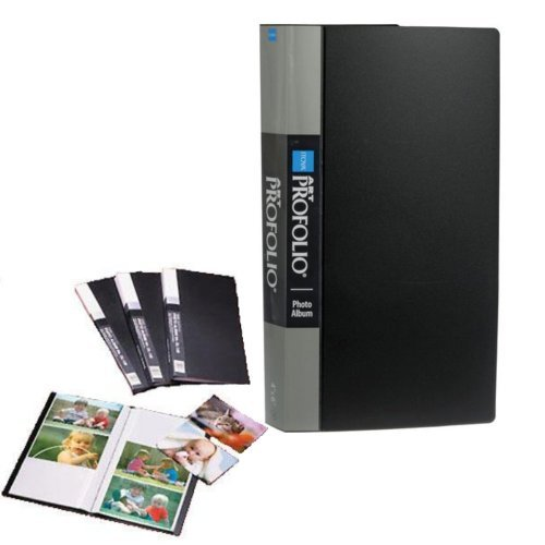 Itoya Art Portfolio Photo Album Photos Clear Pocket Sheets Hold 3 Photo Per Page (360 4 Inch x 6 - Portfolio Pocket 4 Album