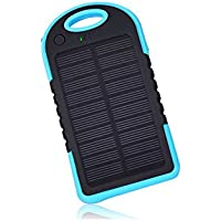 Lianzhi Mini 50,00 mA portable solar mobile power - blue