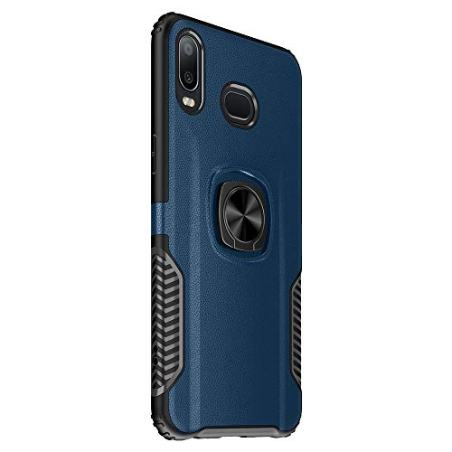 Wareba Compatible Samsung Galaxy A6s [Shock-Absorbing] [Scratch-Resistant] Protective Phone case Protection Cases(Blue) (574 Stop Bumper)
