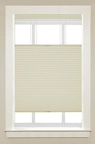 PowerSellerUSA Cordless Window Blinds Cellular Top-Down Bottom-Up Honeycomb Pleated 3/8
