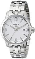 Tissot Men's T0554101101700 PRC 200 Analog Display Swiss Quartz Silver Watch