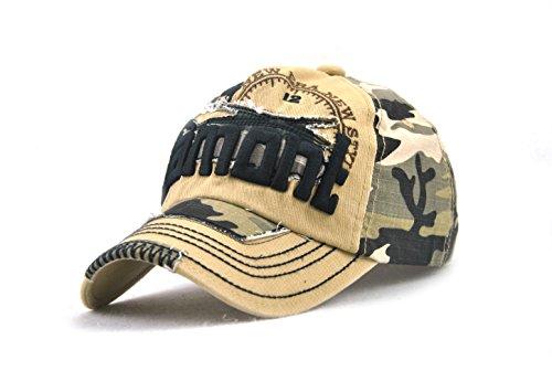 Leezeshaw - Gorra de béisbol - para Hombre Khaki2