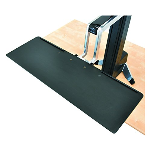 Ergotron 97653 Large Keyboard Tray for WorkFit-S, 27 x 9, Black